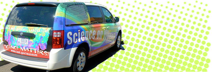 science on wheels van