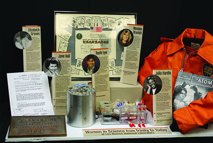 A new exhibit highlights women's contributions to science