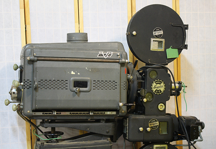 Each of the two projectors offered are approximately 6 feet (2 meters) tall