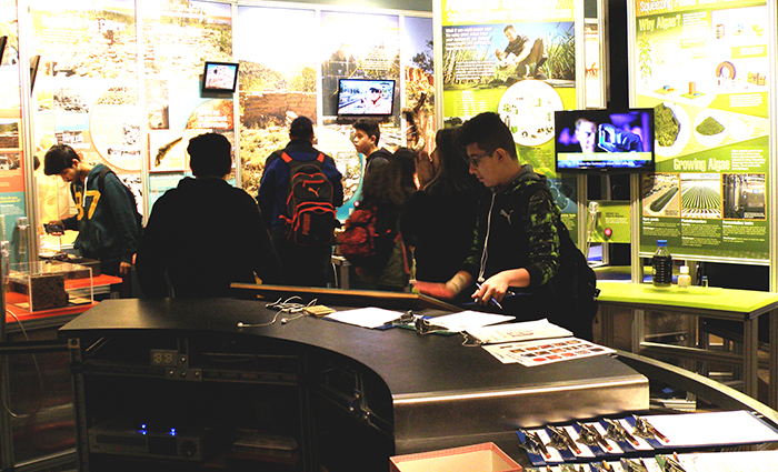 Students at the Museum