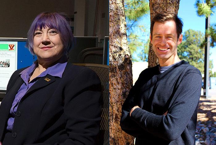 Scientists in the Spotlight: Teri Roberts and Scott Crooker.