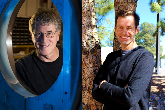 Scientists in the Spotlight, Scott Crooker and Barry Warthen.