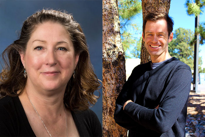 Scientists in the Spotlight: Linda Anderman and Scott Crooker.