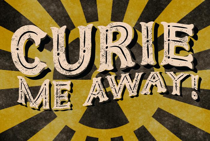 curie me away logo