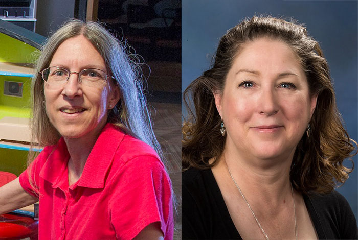 Scientists in the Spotlight: Sandy Frost and Linda Anderman