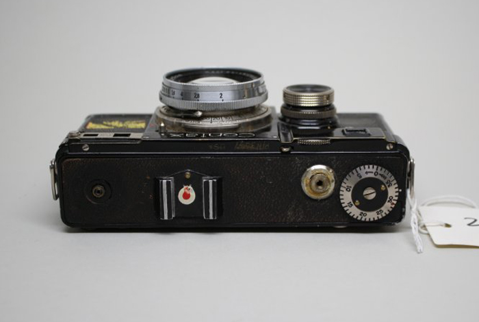 """""""Fried Egg"""" marking on Manhattan Project photographic equipment."""