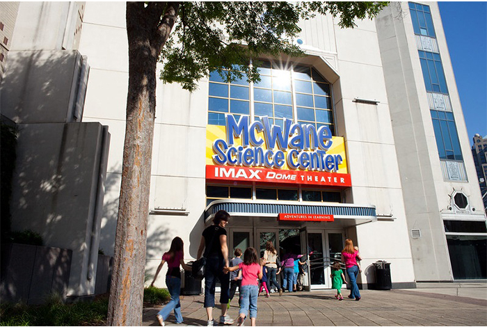 The McWane Science Center.
