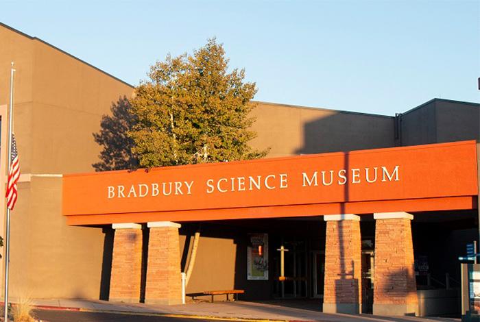 The Bradbury Science Museum in Los Alamos, New Mexico.