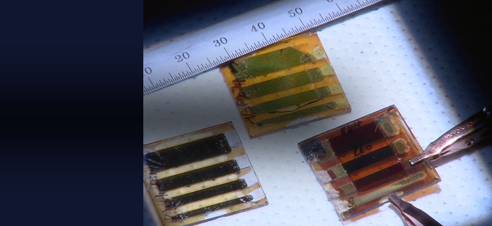 Perovskite research team spin-casts crystals for efficient and resilient optoelectronic devices