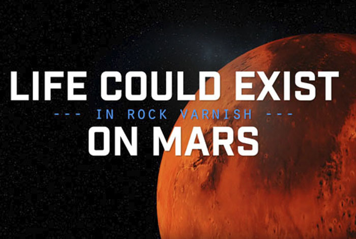 Life on Mars? Rock varnish might have an answer