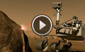 ChemCam rock laser for Mars Science Laboratory