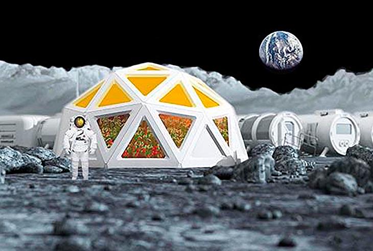quantum dot lunar greenhouse