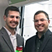 Dr. Matt Bergren, UbiQD Director of Applied Physics, left, and UbiQD Founder and President Dr. Hunter McDaniel