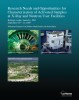 Research Needs and Opportunities for Characterization of Activated Samples at Neutron and X-Ray Facilities report cover